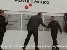 Peña Nieto puso al prófugo César Duarte en su video de logros en Chihuahua