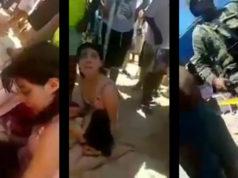 Turistas se organizan tras balacera en Caleta mientras autoridades observan (videos)
