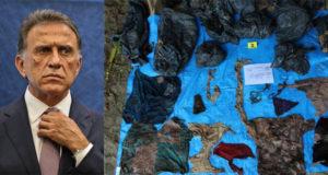 Yunes llama 'mentirosa' a directora de Colectivo Solecito tras hallazgo de fosas clandestinas