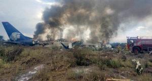 Despide Aeroméxico a los 3 pilotos del avionazo en Durango; no fue provocado por aprendiz
