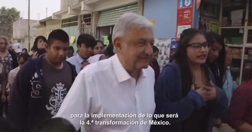 AMLO termina gira de agradecimiento; resume 25 proyectos de su gobierno en video