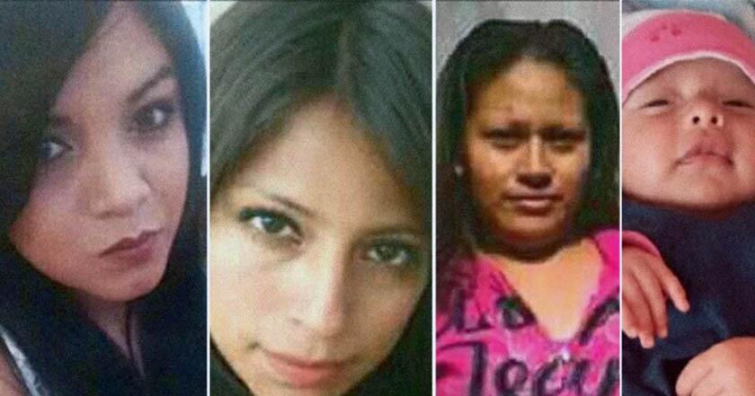 Arlet, Evelyn, Nancy y su bebé de 2 meses, víctimas de feminicidio en ecatepec
