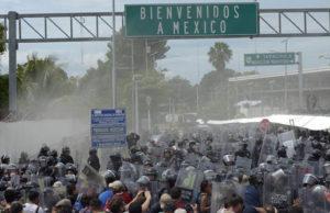 Caravana Migrante_ México solidario vs xenofobo