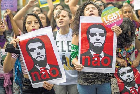 Convocan en México a movilización contra Bolsonaro, candidato de la ultraderecha brasileña