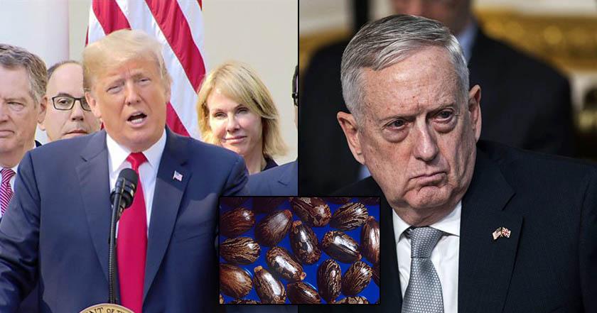 Envían al Pentágono y Trump sobres envenenados con ricina