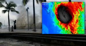 Huracán Willa llega a México; toca tierra en Sinaloa, levanta peligrosas olas (En Vivo)