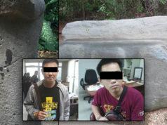 Liberaron por falta de pruebas a indonesios acusados de dañar 15 piezas de La Venta