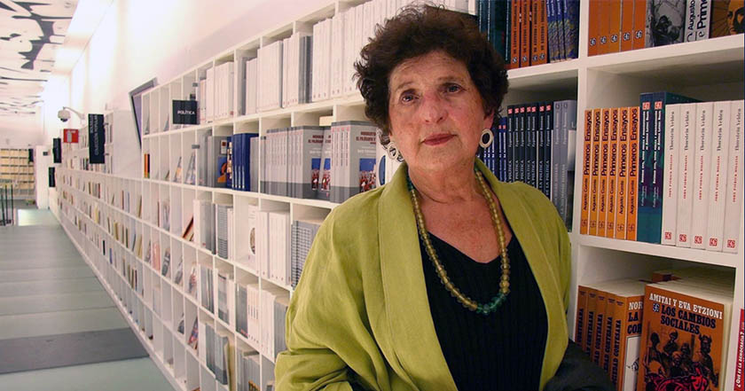 Margo Glantz no será titular del Fondo de Cultura Económica
