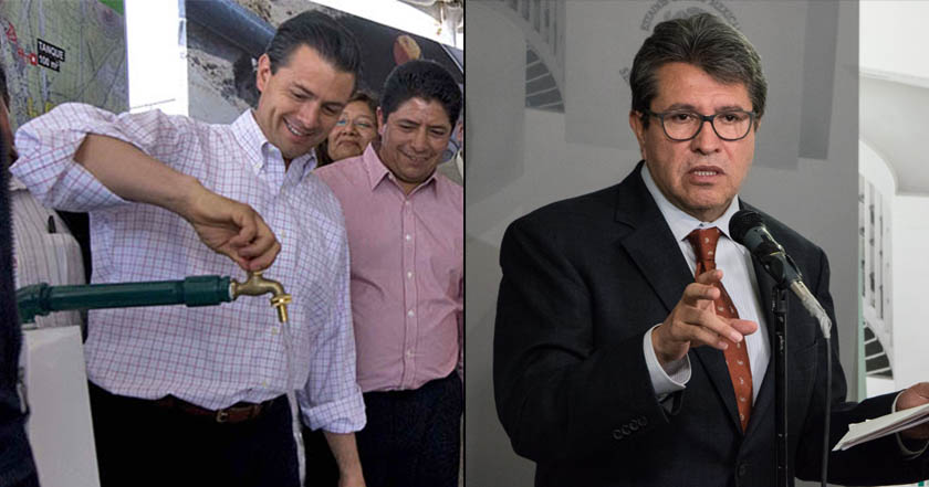 Monreal demanda a Peña Nieto que detenga intentos de privatizar el agua