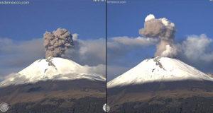Preparan albergues ante aumento en la actividad del Popocatépetl