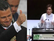 Rosario Robles defiende a Peña Nieto durante su audiencia