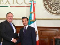 Secretario de Estado Mike Pompeo visitará a Peña Nieto para decidir sobre Venezuela