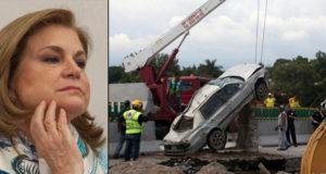 Socavón de Paso Exprés y Odebrecht son casos cerrados para la SFP: Arely Gómez