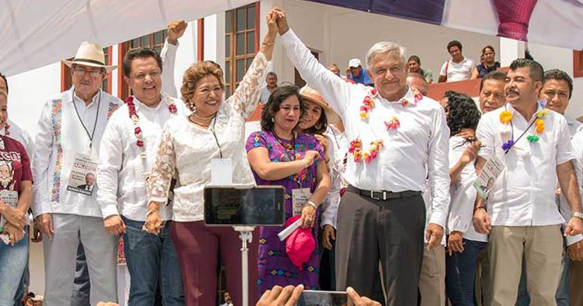 alcaldesa de Acapulco, Guerrero, la morenista Adela Román Ocampo