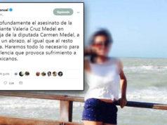 AMLO lamenta el asesinato de Valeria Medel, hija de una diputada de Morena