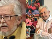 AMLO lamenta muerte de Fernando del Paso; recuerda su apoyo durante el desafuero con Fox