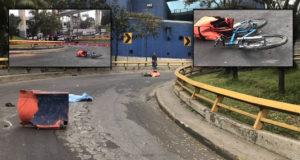 Atropellan y matan a otro ciclista en CDMX; era repartidor de comida