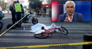 Ciclista atropellada en Roma Norte no tenía prestaciones, trabajaba para Ricardo Alemán
