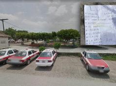 Dejan cabeza humana a la vista de niños en parque de Puntilla Aldama, Veracruz