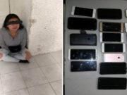 Detienen a mujer que robó 19 celulares en 1er día de Corona Capital