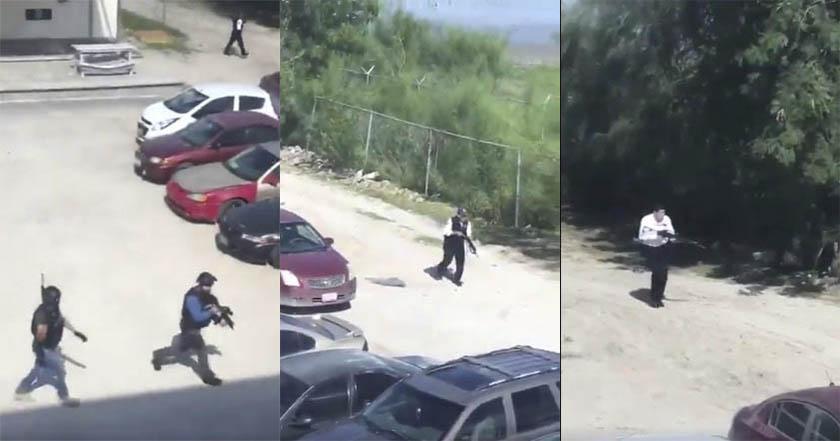 Entra comando armado a la Universidad Tecnológica de Tamaulipas Norte