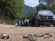 Imagen ilustrativa violencia policía guerrero inseguridad narco alerta de viaje