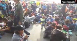 Llegan 100 migrantes a frontera México-EU; intentarán cruzar (EN VIVO)