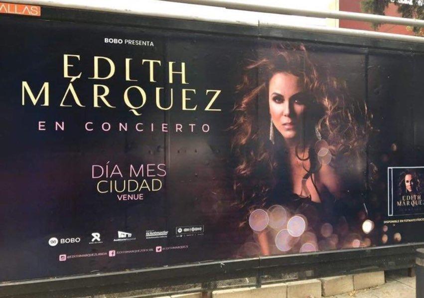 Así corrigió Edith Márquez a mano el 'error' en su espectacular