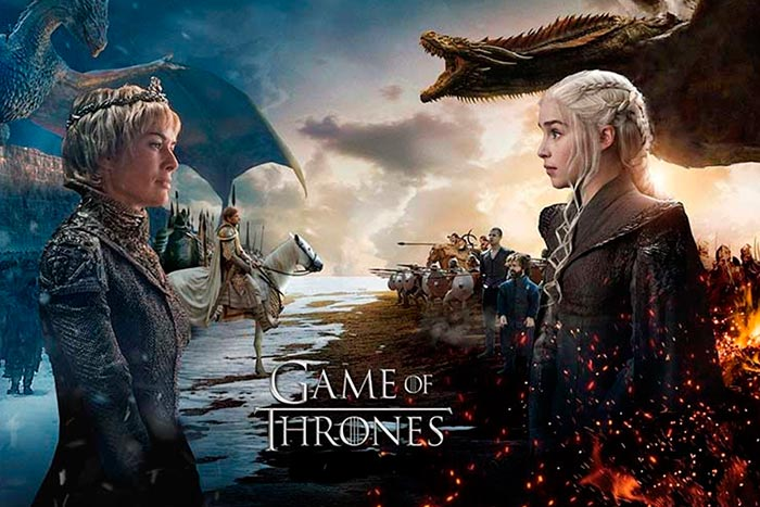Estreno de la temporada 8 de Game of Thrones será en abril