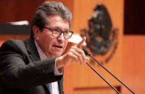 Morena Ricardo Monreal coordinador Senado