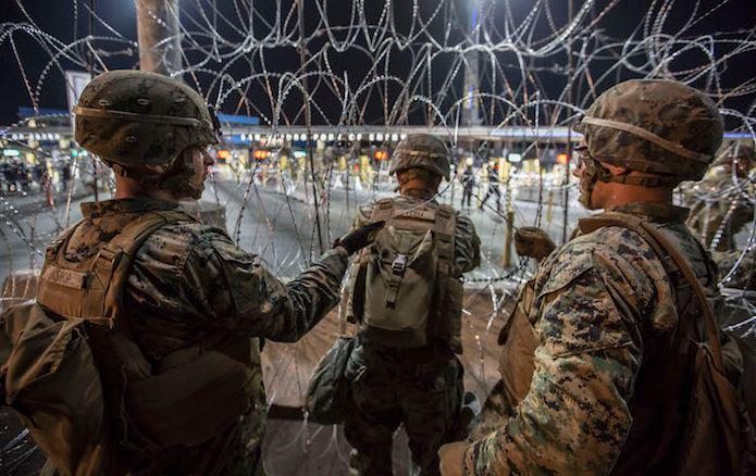 Cierran acceso a EU en el cruce fronterizo de San Ysidro