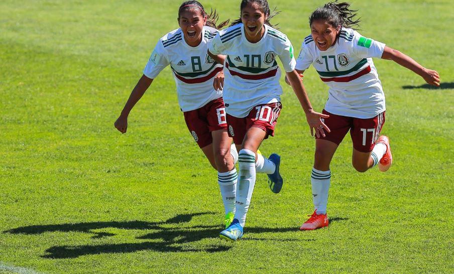 Tri Femenil avanza a cuartos de final de Mundial Sub 17