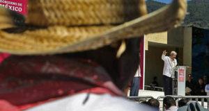 AMLO inicia Programa de Pavimentación a Cabeceras Municipales