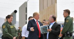 Cierre de Gobierno EU Donal Trump Senado muro fronterizo