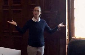 Claudia Sheinbaum dijo adiós a las puertas blindadas de Mancera