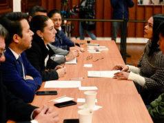 Claudia Sheinbaum presenta gabinetes de Seguridad y Justicia