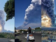 Entra también en erupción mayor volcán de Europa; Etna en Sicilia, Italia