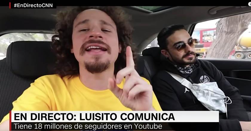 Luisito Comunica denuncia que CNN Chile se apropió de sus videos 2