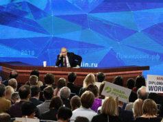 Putin afirma que quiere 'gobernar el mundo'