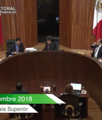 TEPJF X elección en Puebla