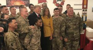 Trump no retirará tropas de Irak; 'serviría de base para hacer algo en Siria'