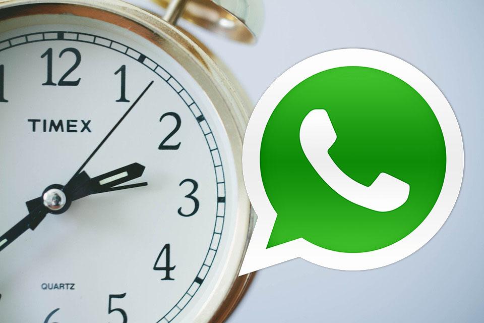 Cómo programar el saludo de Año Nuevo por WhatsApp