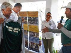 AMLO busca reactivar turismo y empleos en Playa Espíritu, Sinaloa