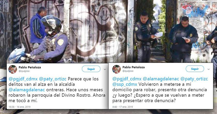 Asesinan a profesor de la UNAM en su domicilio, en Magdalena Contreras