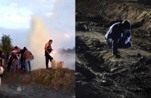 'Cómo no hice caso, no lo hubiera hecho'_ herido de Tlahuelilpan