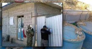 Catean casas que almacenaban huachicol en Oaxaca; aseguran 800 litros