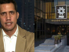 Como el PAN, PRD también se lanza en defensa de Juan Guaidó