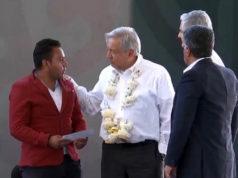 EN VIVO_ AMLO entrega apoyos antihuachicol en Ixtlahuaca