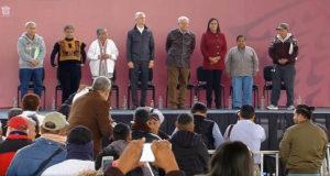 EN VIVO_ AMLO lanza programa de pensiones para adultos mayores
