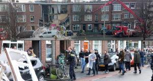 Explosión derrumba varios edificios en La Haya, Países Bajos (imágenes)